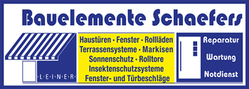 Bauelemente Schaefers Logo