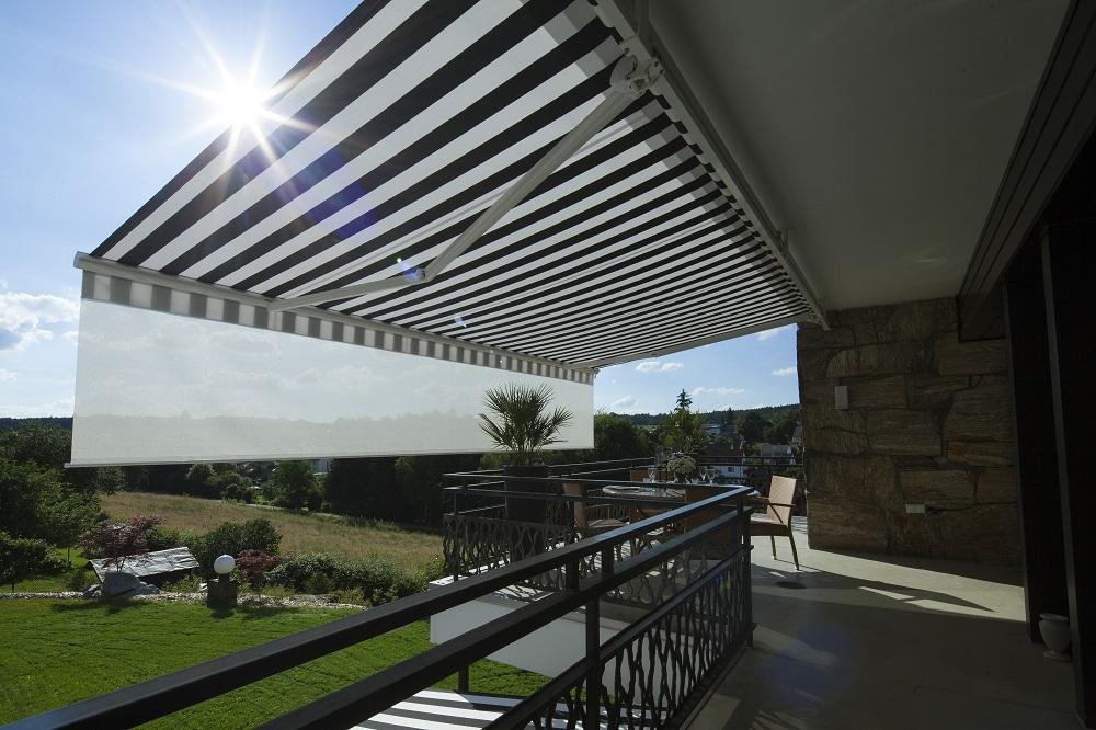 Moderne Markisen für Terrassen und Balkone
