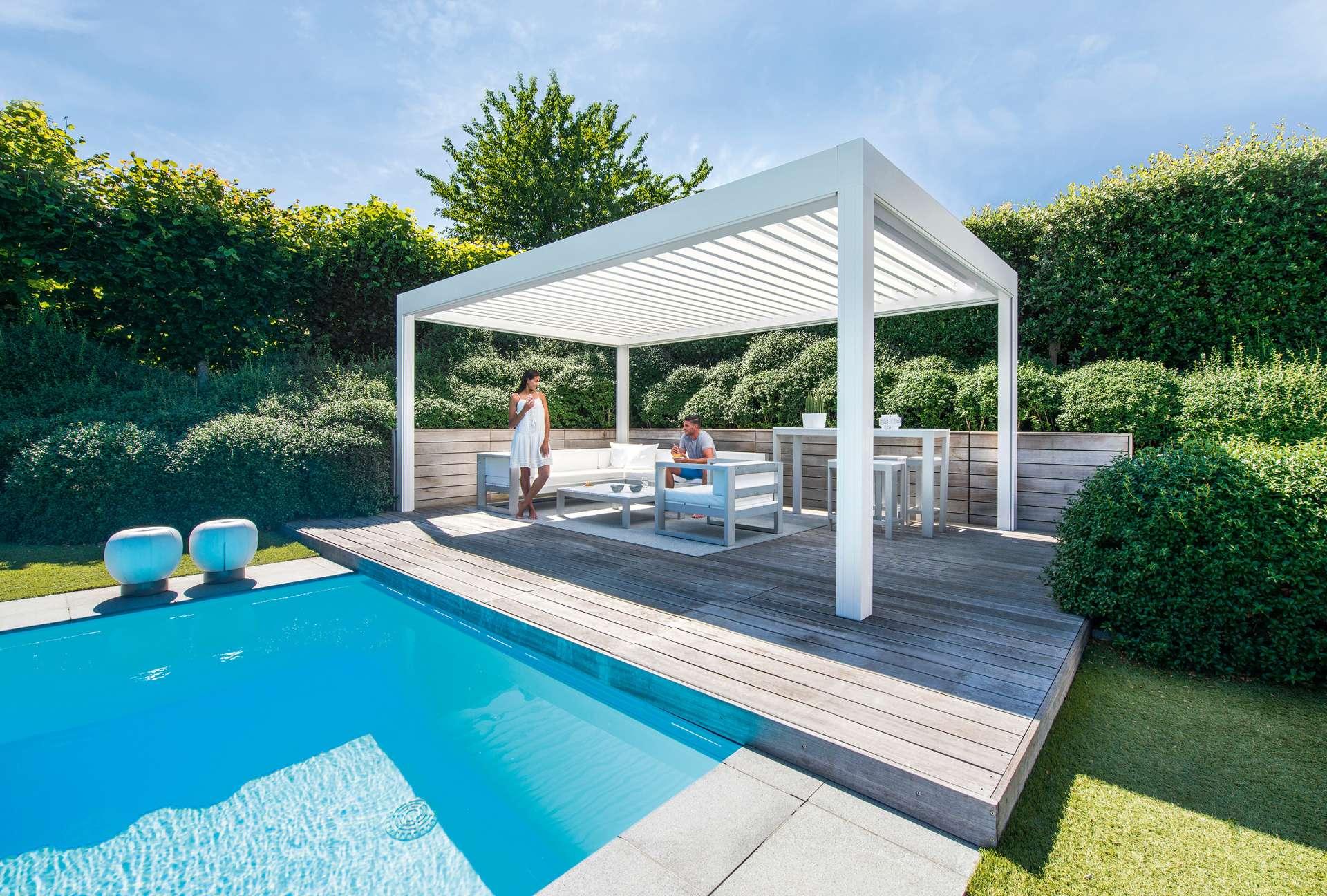 Moderner Sonnenschutz für Ihren Garten